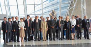 Group Photo of UN offices & MOFA of RoK