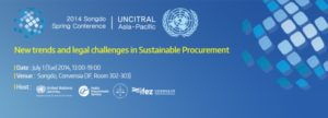 UNCITRAL conference on public procurement