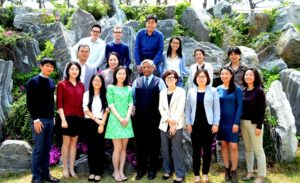 UN ESCAP East and North-East Asia Office Staff