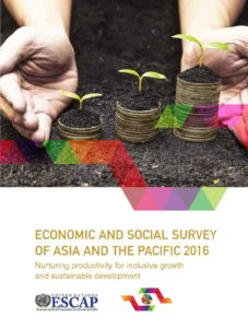 Cover of Economic and Social Survey of Asia and the Pacific 2016