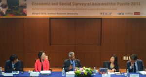 ESCAP Survey 2016 at Incheon National University in RoK